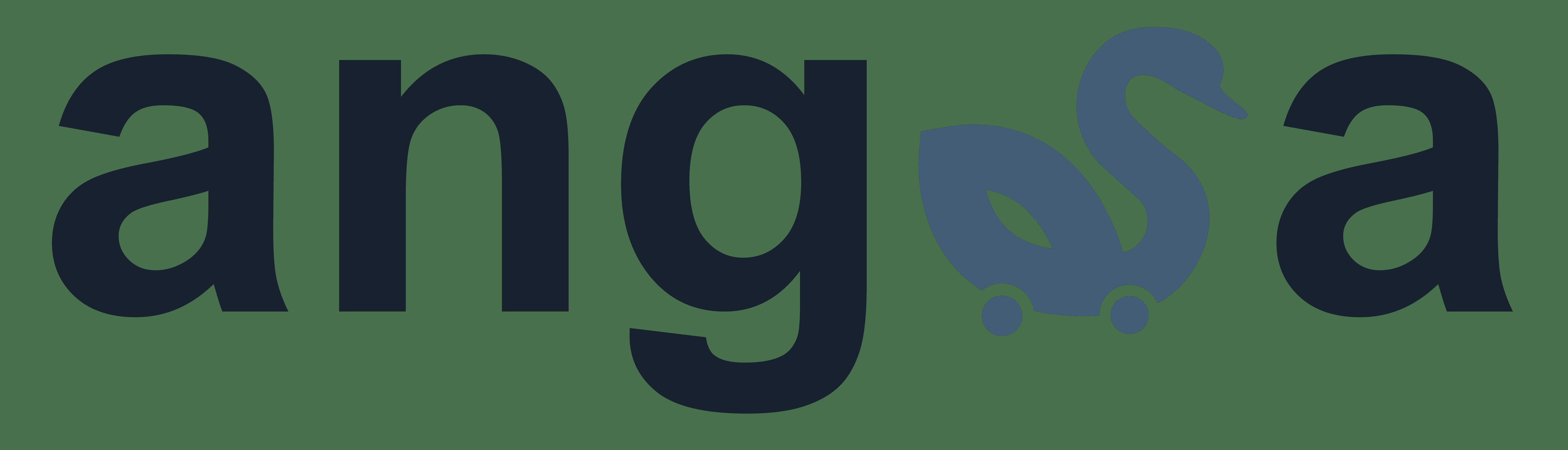 Angsa Logotyp lang dunkel