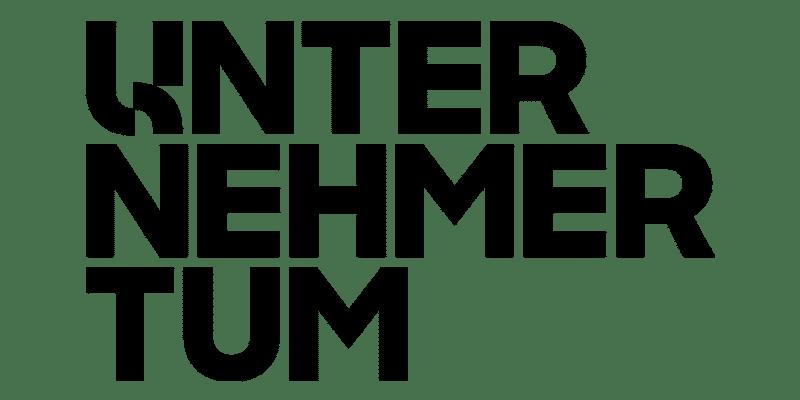 Logo: UNTERNEHMERTUM Logo Unternehmertum