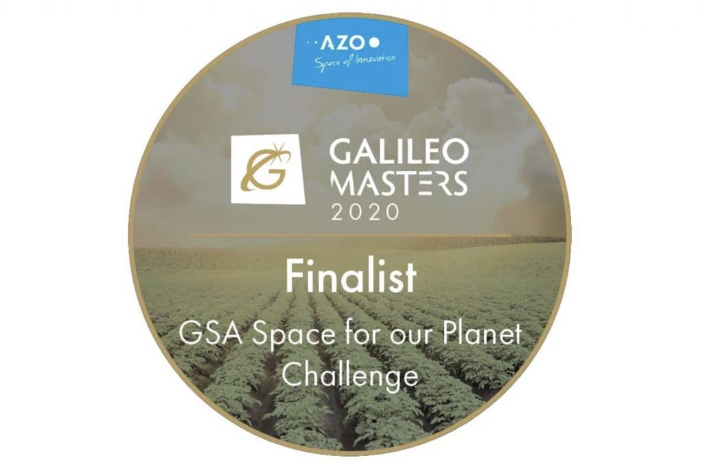 Medaille: Finalist Galileo Masters 2020: GSA Space for our Planet Challenge