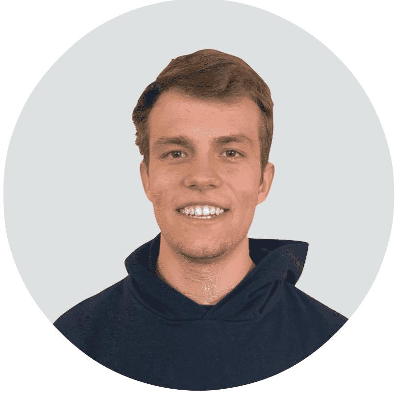 Mitarbeiter von Angsa-Robotics: Felix Neo Rieder, zuständig für Projektstudium Marketing