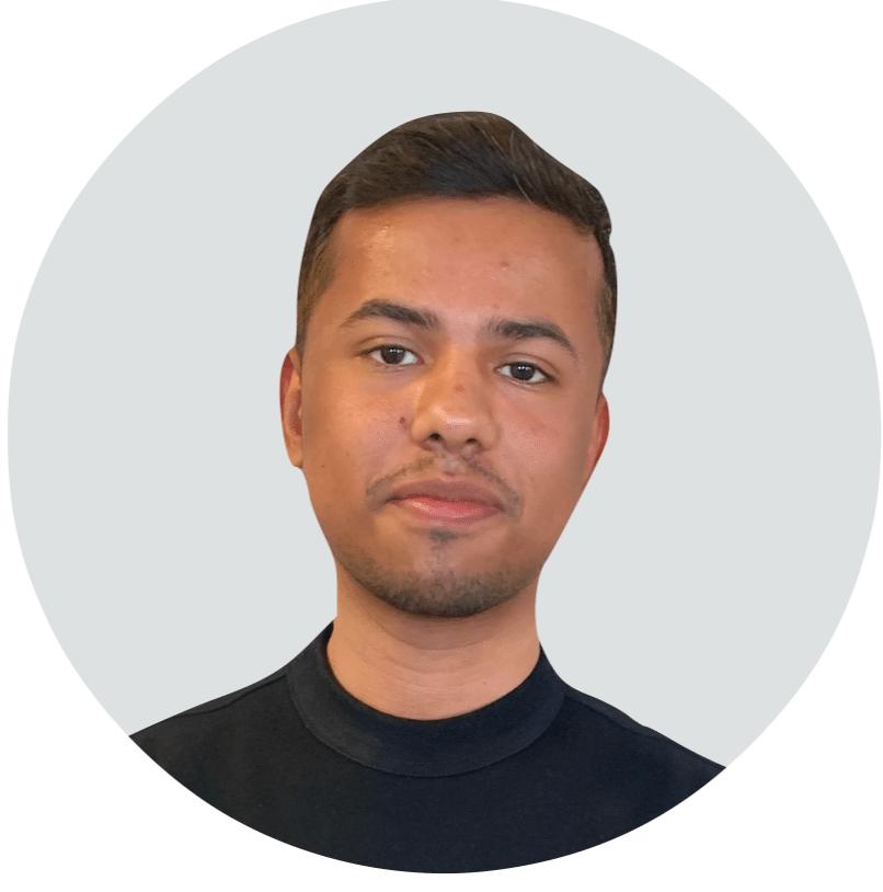 Mitarbeiter von Angsa-Robotics: Abhay Tyagi, zuständig für Projektstudium Marketing