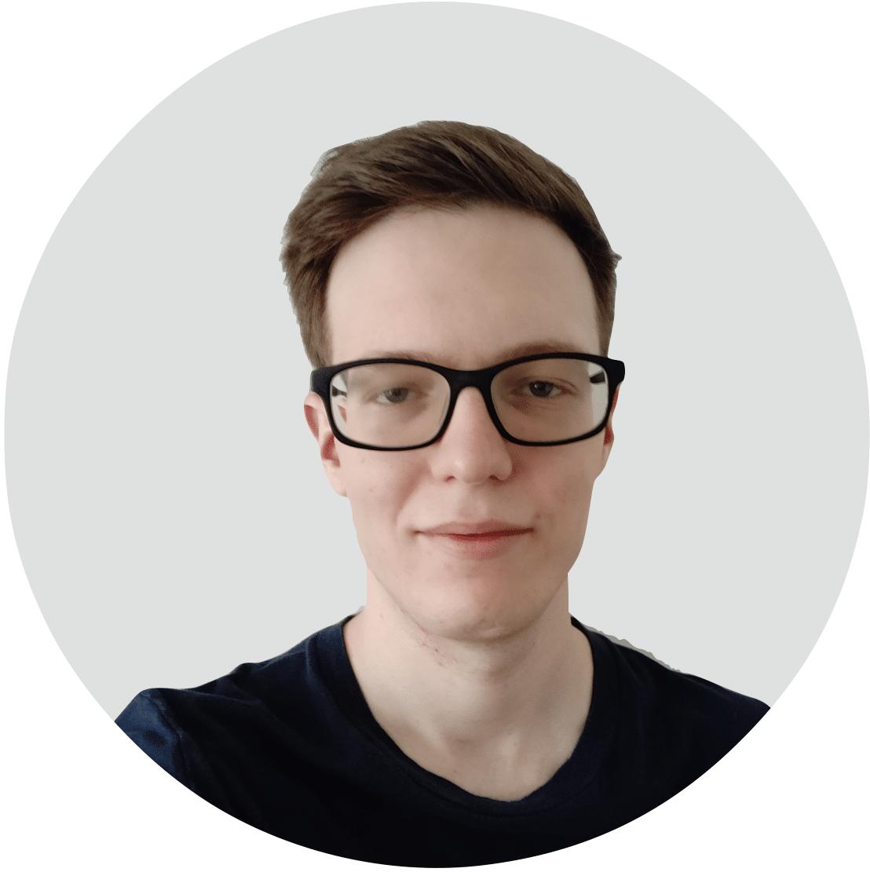 Mitarbeiter von Angsa-Robotics: François Thibeau, zuständig für Objekterkennung