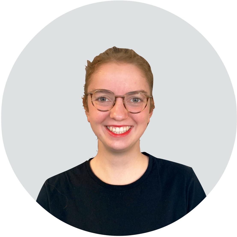 Mitarbeiter von Angsa-Robotics: Stefanie Albers, zuständig für Projektstudium Marketing
