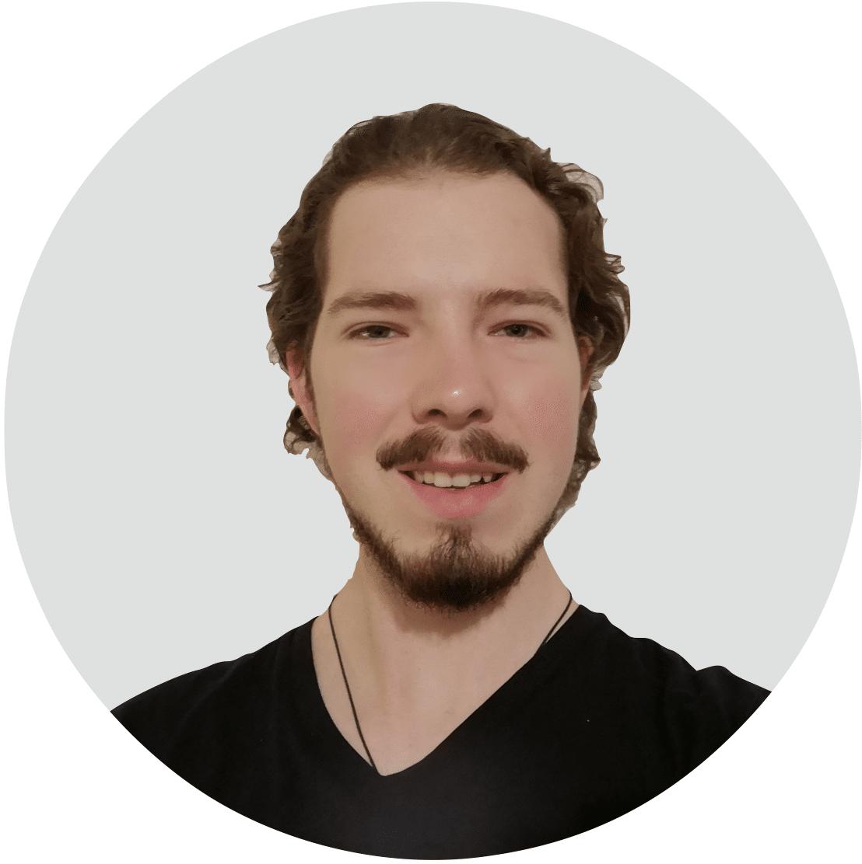 Mitarbeiter von Angsa-Robotics: Tobias Zengerle, zuständig für Objekterkennung